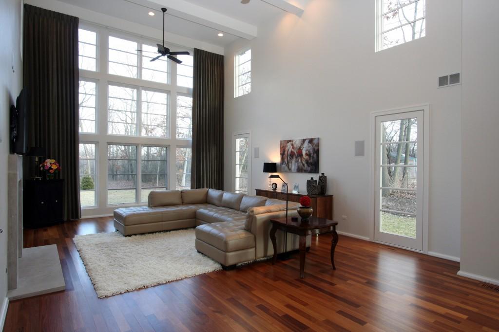 Model Homes Living Room Barrington IL