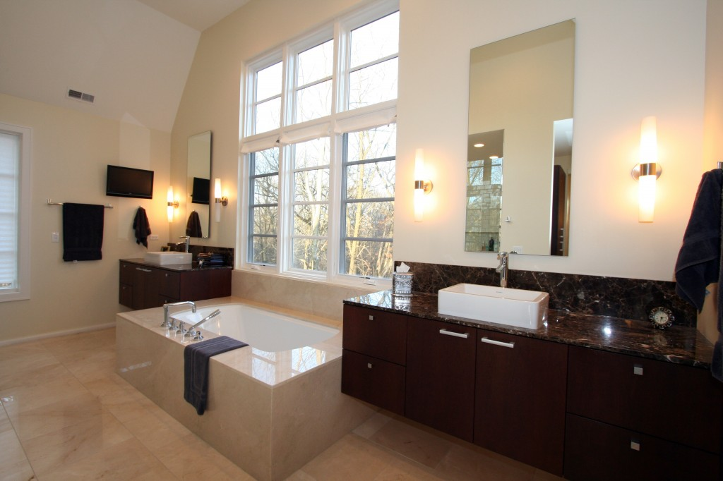 Luxury Bathroom Custom Built Home Builder