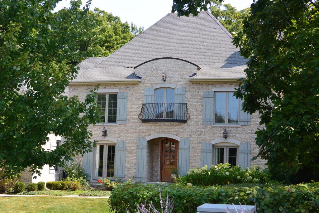 French Provincial Custom Home Exterior Design
