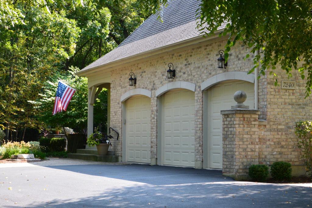 3 Door Garage Entry Design