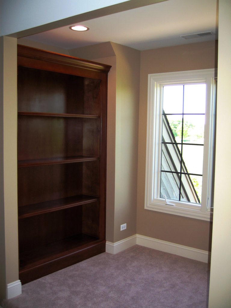 Built In Bookcase Wood